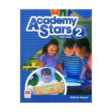 کتاب آکادمی استار Academy Stars 2 (Pupil's Book+W.B)+CD