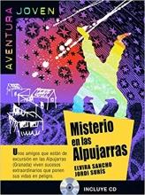 کتاب زبان داستان اسپانیایی Misterio En LAS Alpujarras + CD