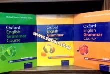 کتاب گرامر پک سه جلدی آکسفورد انگلیش گرامر کورس Oxford English Grammar Course