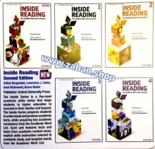 کتاب زبان پک پنج جلدی New Inside Reading with cd 2edition