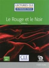 کتاب زبان کتاب Le rouge et le noir - Niveau 3/B1