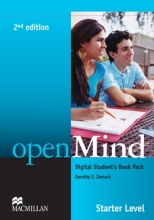 کتاب زبان openMind 2nd Edition Starter Level Digital Student's Book Pack