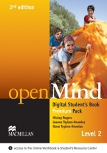 کتاب زبان openMind 2nd Edition Level 2 Digital Student's Book Premium Pack