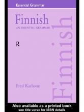 کتاب گرامر فنلاندی  Essential Grammar Finnish