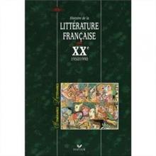 کتاب زبان Itineraires litteraires : Histoire de la litterature française XX 1950-1990