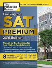 کتاب زبان Cracking the SAT Premium Edition with 8 Practice Tests 2019