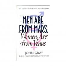 کتاب زبان Men Are From Mars,Woman Are From Venus