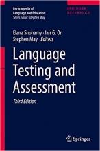 خرید کتاب Language Testing and Assessment 3rd Edition