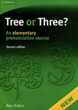 خرید کتاب زبان Tree or Three? An Elementary Pronunciation Course 2nd+CD
